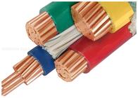 良い品質 架橋ポリエチレン絶縁電力ケーブル & 3 半分の中心とカスタマイズされる 1000V 銅のコンダクターのポリ塩化ビニールによって絶縁されるケーブル 販売